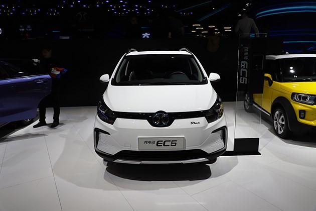 北汽新能源EC5将于7月13日上市 纯电小型SUV/续航能力403km