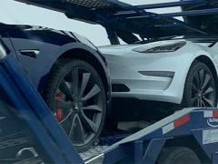 外观黑化 特斯拉Model 3新轮圈样式曝光