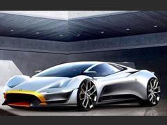 赛车制造商lister发布电动超跑预告图